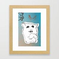 Bear1 Framed Art Print