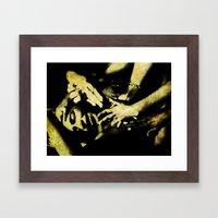 Sweet Pain Framed Art Print