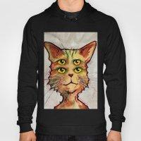 Four Eyed Cat Hoody