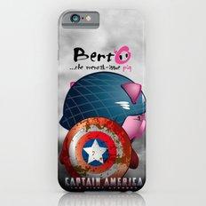 Berto: The Mental-issue pig as Captain America iPhone 6 Slim Case