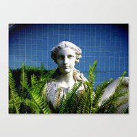 Our Lady Of The Ferns Canvas Print