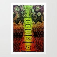 TIMEWIZARD Art Print