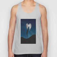 Painting The Moon Unisex Tank Top