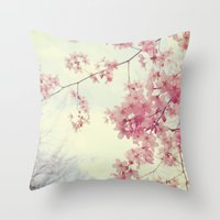 Dreams In Pink Throw Pillow