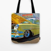 Classic Chevy Belair Tote Bag