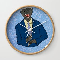 The One Percent Wall Clock