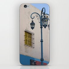 Street lights of La Boca I iPhone & iPod Skin