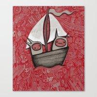The Treacherous Journey Canvas Print