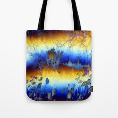 ABSTRACT - My blue heaven Tote Bag