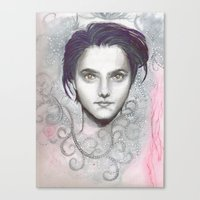 chemical face Canvas Print