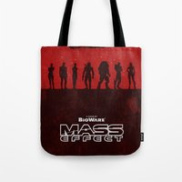 Mass Effect 1 Tote Bag