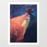 The Light Eater Art Print