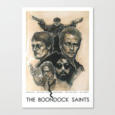 the Boondock Saints Canvas Print