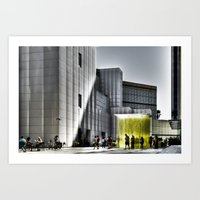 LACMA - Los Angeles Coun… Art Print
