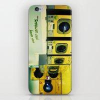 Wash Away Your Sorrow... iPhone & iPod Skin