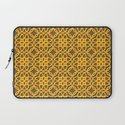 Lacey Pattern, Gold/Sand Laptop Sleeve