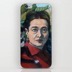 Simone DeBeauvoir iPhone & iPod Skin