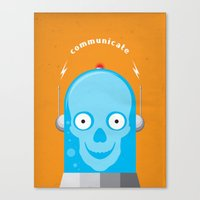 Communicate Canvas Print