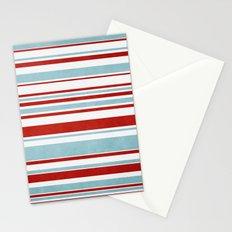 Christmas Stripes Stationery Cards