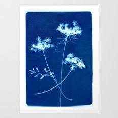 Indigo 1 Art Print