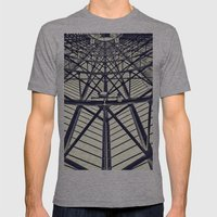 Many Shapes Mens Fitted Tee Athletic Grey SMALL