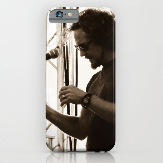 Vedder - Pearl Jam 20 Festival iPhone & iPod Case