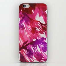 Morning Blossoms 2 - Magenta Variation iPhone & iPod Skin