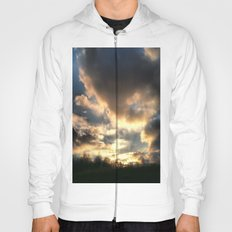 Clouds on Fire Hoody