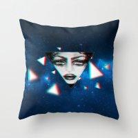 dimensional snap Throw Pillow