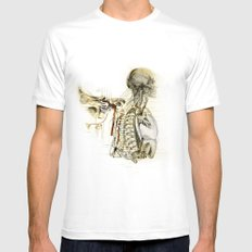 bones White SMALL Mens Fitted Tee