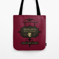 Camelot's One Stop Magic… Tote Bag