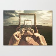 Empty Frame Canvas Print