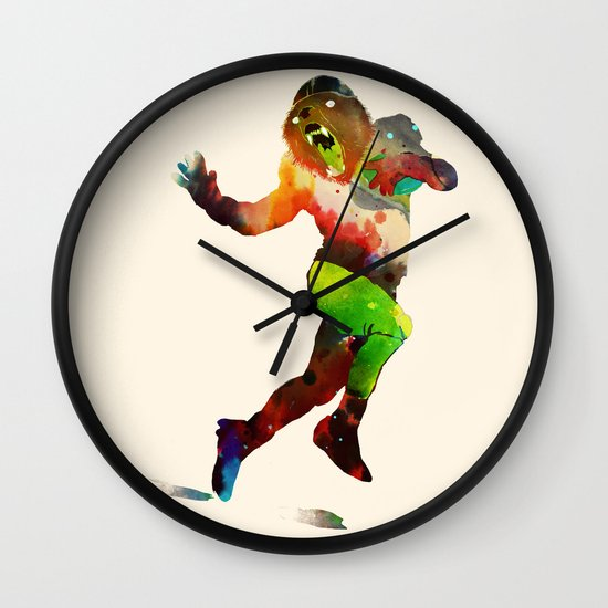 Trophy Pose Wall Clock