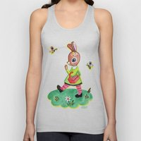 Rebecca Rabbit as Francoise's Jeanne-Marie Unisex Tank Top