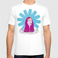 Princess Bubblegum Mens Fitted Tee White SMALL