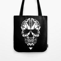 MUSICAL SKULL Tote Bag