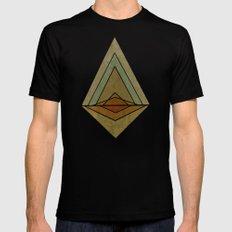 Mountain Mens Fitted Tee Black SMALL
