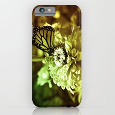Butterfly on Flower - Color Slim Case iPhone 6s