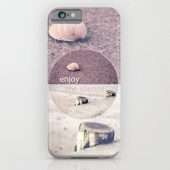 Enjoy The Silence! iPhone & iPod Case