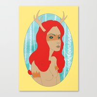 Wild Woman Canvas Print
