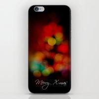 Merry X-mas iPhone & iPod Skin