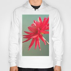 Red Imperfect Flower Hoody