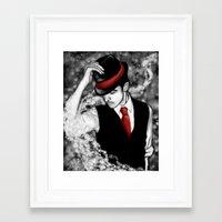 Good Evening Framed Art Print