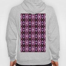 Purple White Flower Patt… Hoody