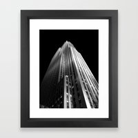 The Rock Framed Art Print