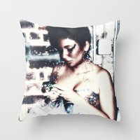 Va Va Voom Throw Pillow