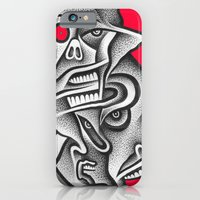 iPhone & iPod Case featuring Schism by Jon Duci