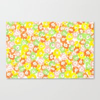 Morning Glory  - Sun Multi Canvas Print