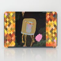 Silence Walks iPad Case