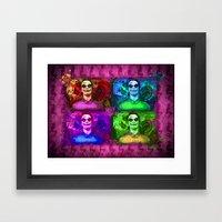 Michael Fassbender...Jok… Framed Art Print